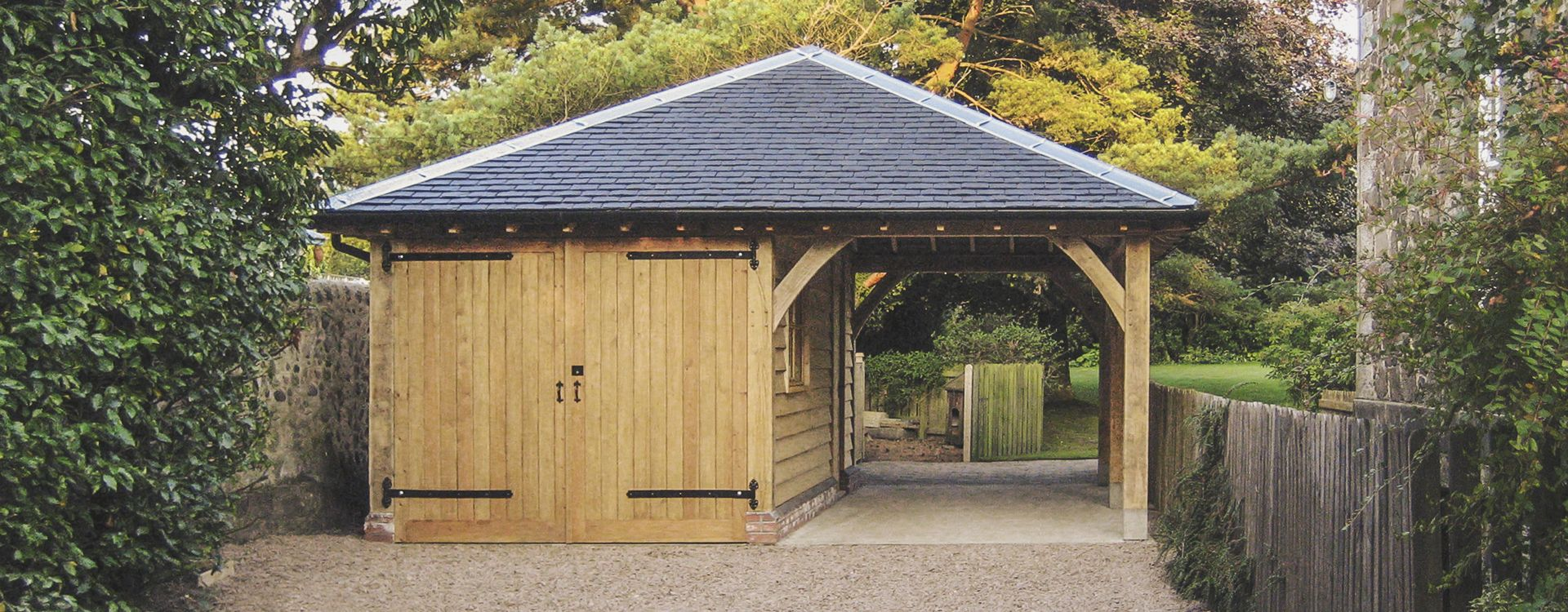 Oak Framed Carports Timber Car Port Kits Carport Timber Garage Diy Carport