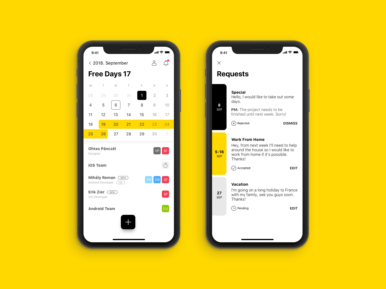 Dribbble social app ui design jpg by ramotion - Leave Manager Dribbble Ios11 Iphnex Pczohtas Halcyonmobile