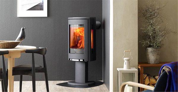 Jotul modern gas fireplace Virginia   bedroom   Pinterest   Stove ...