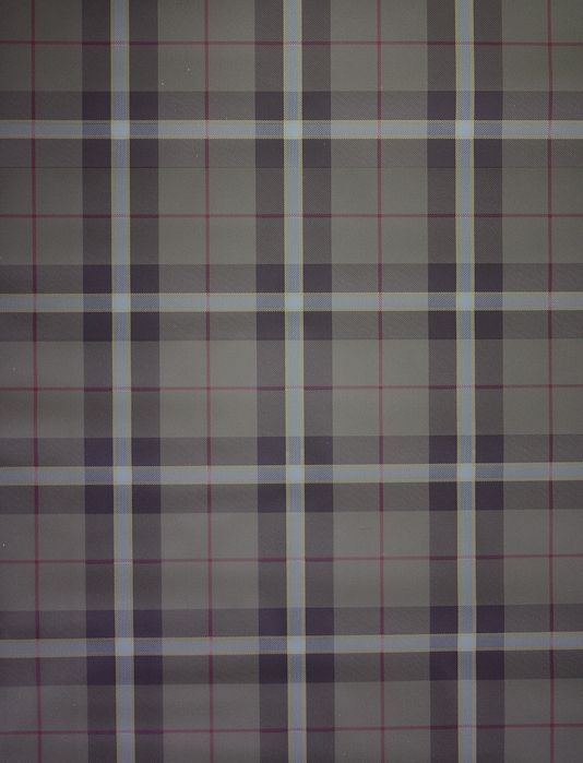 Winslow Plaid Wallpaper A Tartan Wallpaper In Chestnut And Taupe With Thin Burgundy Stripes Plaid Wallpaper Tartan Wallpaper Wallpaper