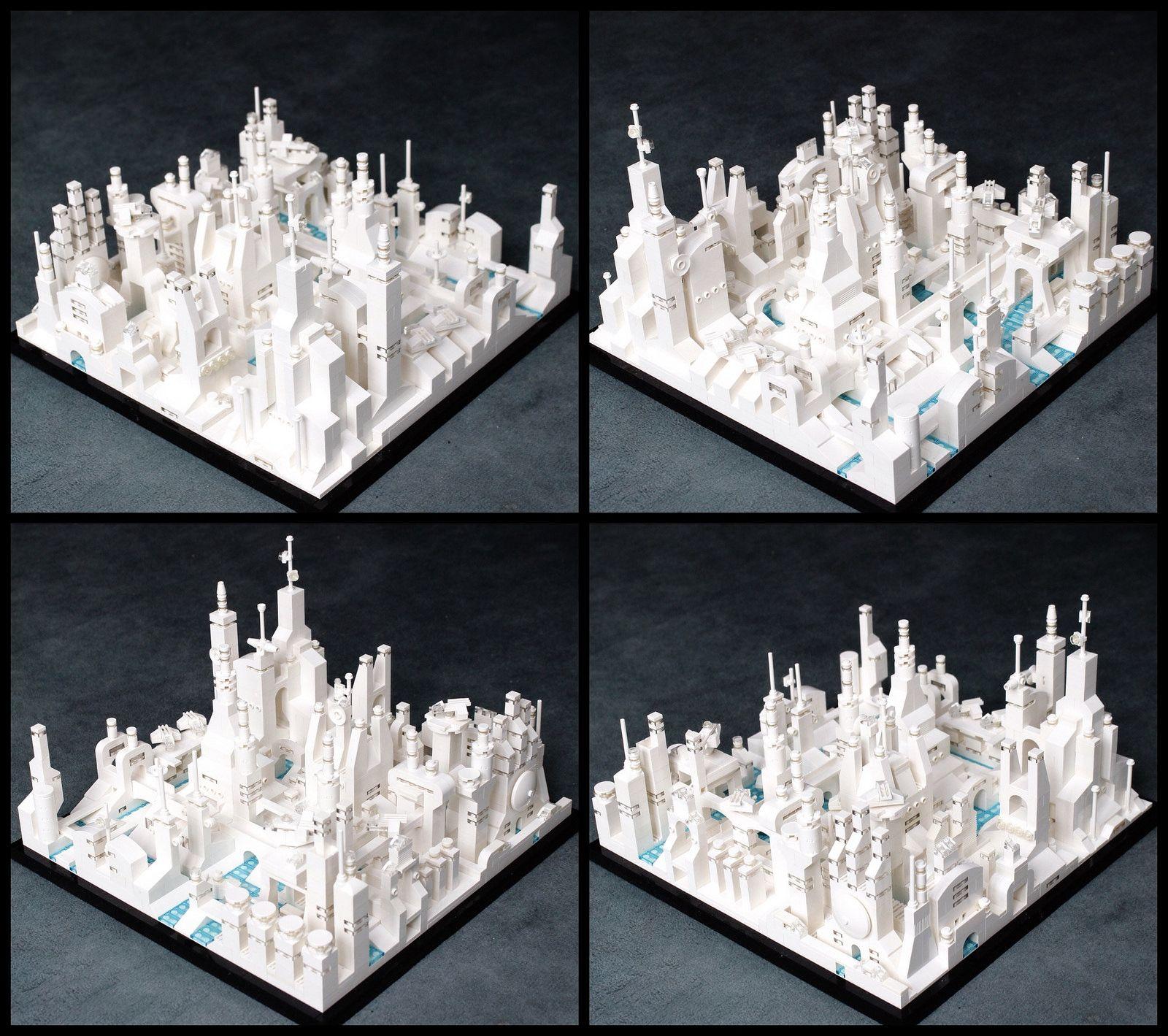 Lego Metropolis Lego architecture, Micro lego, Lego