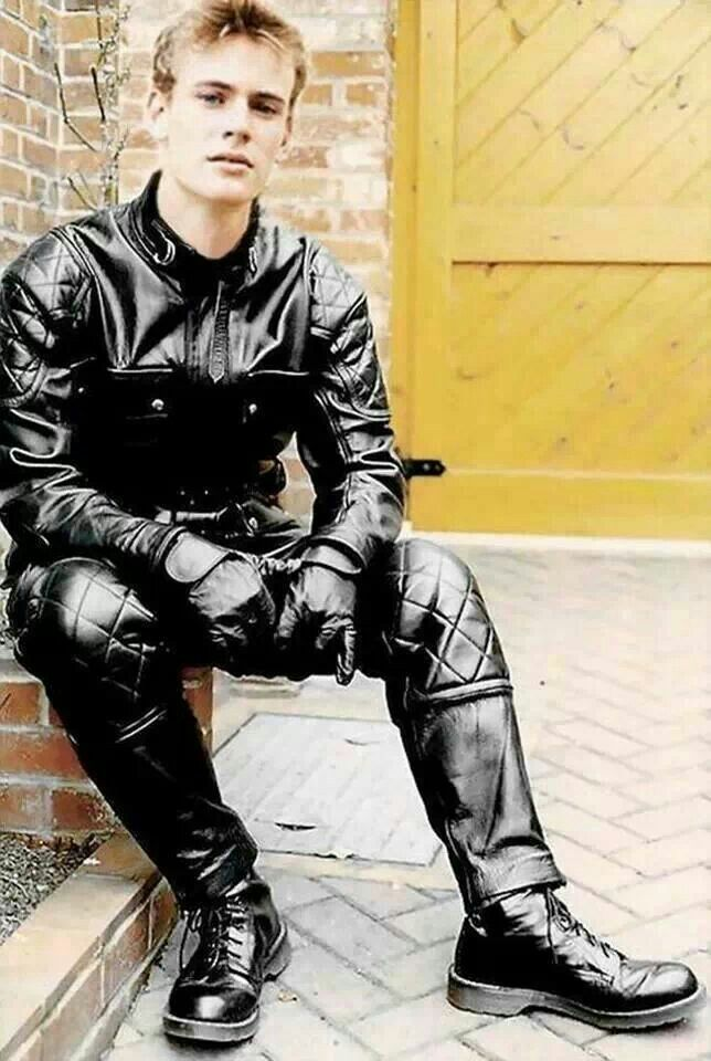 Gay leather boys