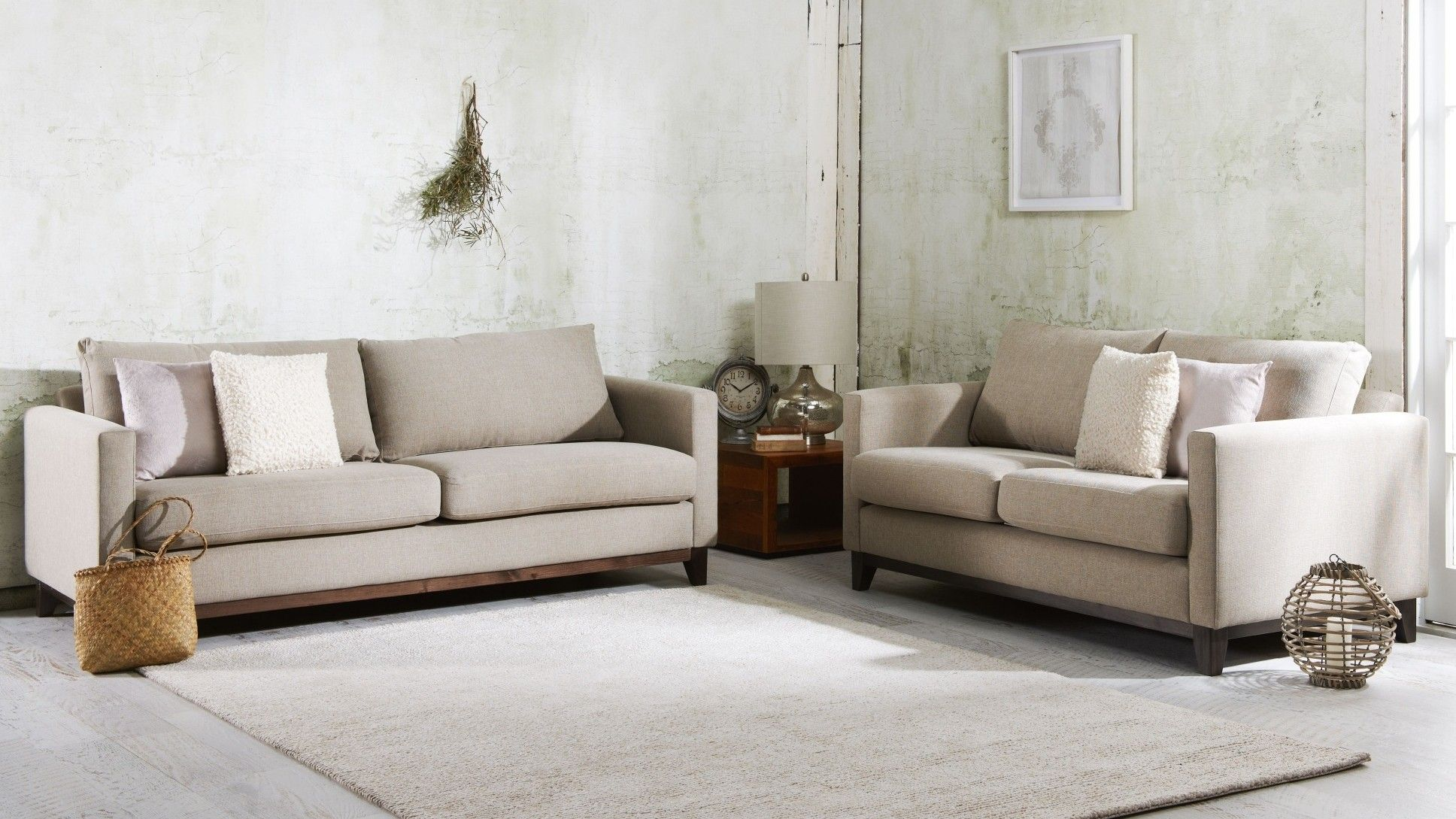 cooper sofa harvey norman 1005c contemporary black and white leather sectional 3 seater fabric house living room