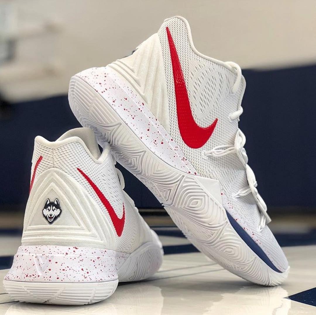 "1714af374e2c Nike Kyrie 5 ""  uconnmbb "" PE 🔥🔥🔥"