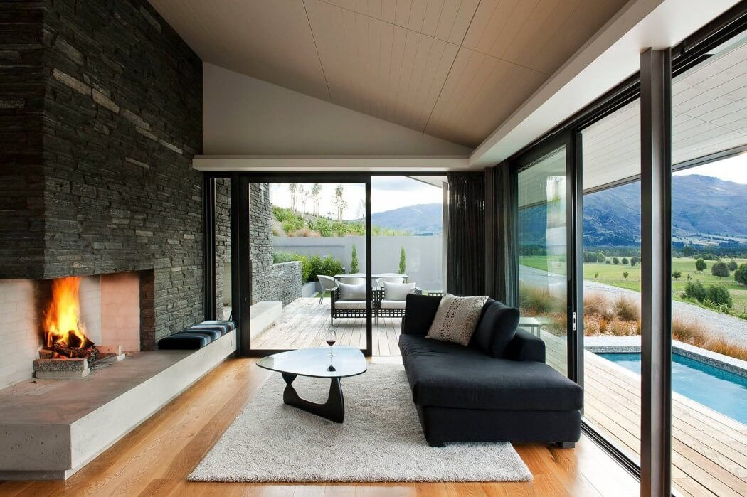 Living Room Ideas Nz modernist househerriot + melhuish architecture #maryland