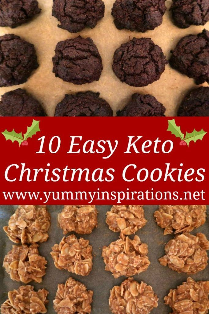 10 Easy Keto Cookies Recipes - Low Carb Cookie Ide