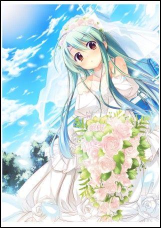 Hatsune Miku Wedding Dress | Anime | Pinterest | Hatsune miku