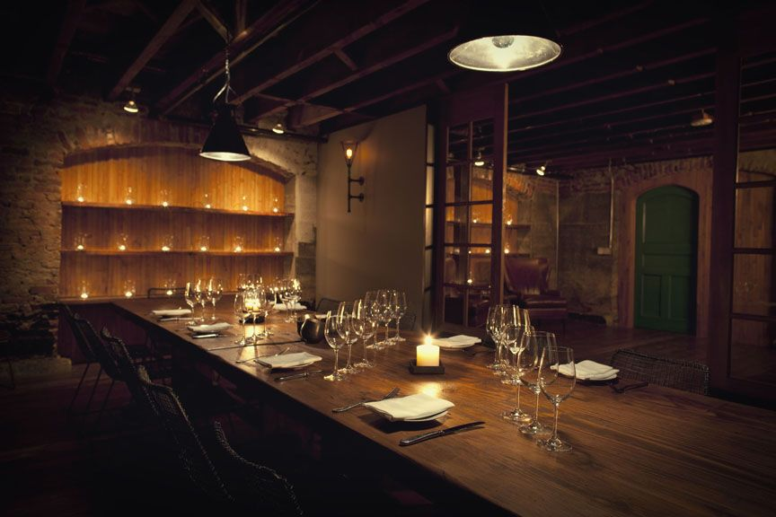 speakeasy-style private underground wine cellar / tasting room (this pic from the Cellar in Ballard, Seattle, WA)
