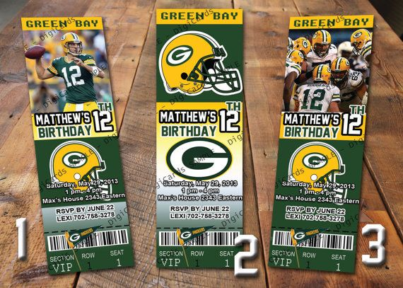 Pin By Tiziana Cino On Aiden Green Bay Packers Birthday Kids Birthday Party Packers Party