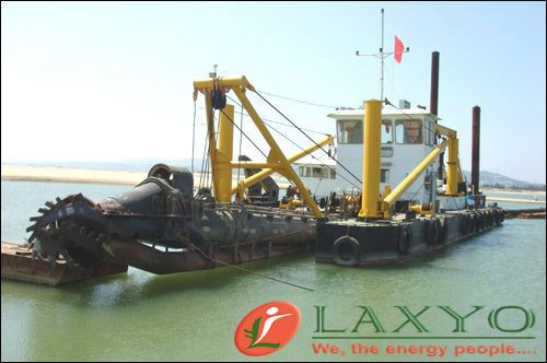 Laxyo Group is a full-service hydraulic dredging and waste