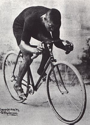 """Marshall """"Major"""" Taylor was the first African American professional cyclist. Born in 1878, Major Taylor's professional racing career spanned 13 years and included the world one-mile track cycling championship in 1899."""