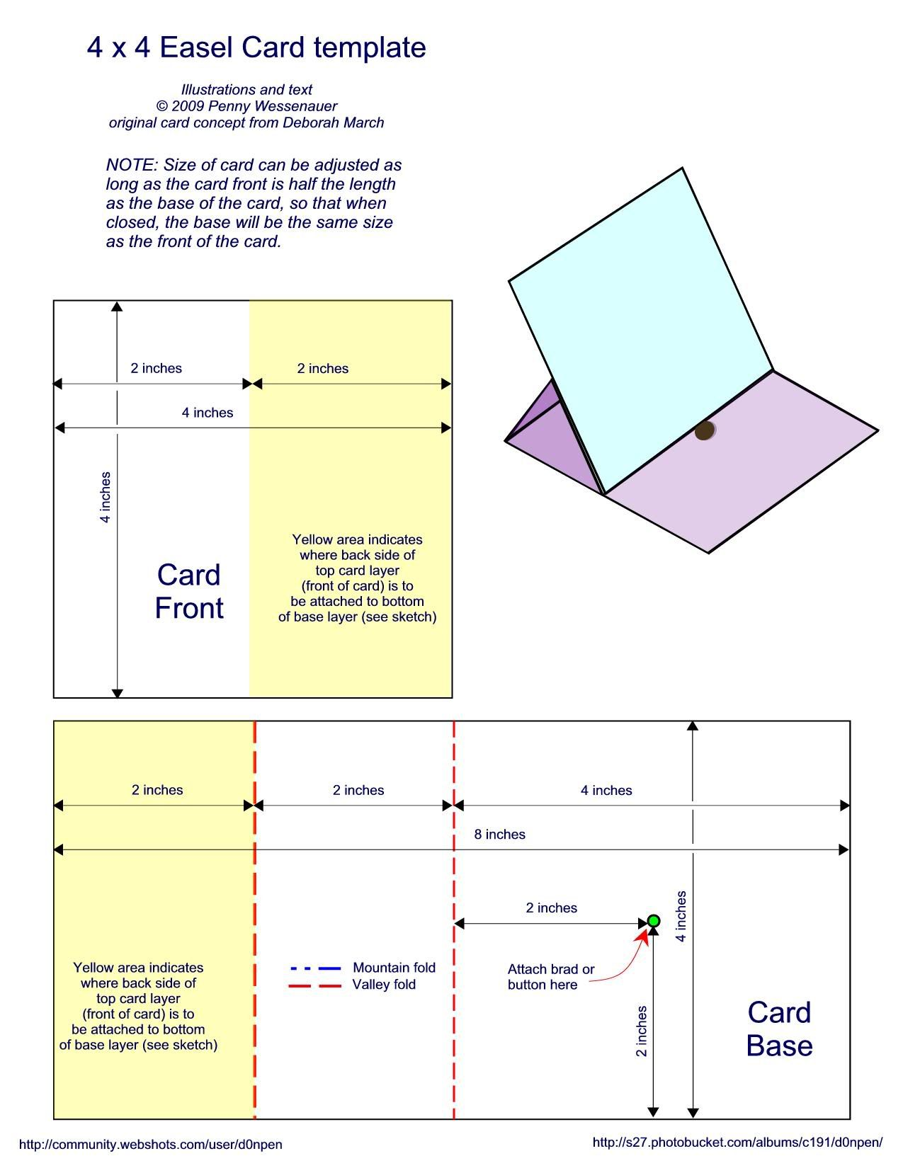 This template was designed by Carolyn Dickenson, who also made ...