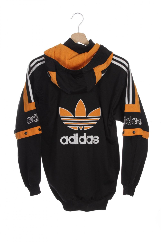 Vintage 90s Adidas Trefoil AdiBreak Tracksuit Top Hooded