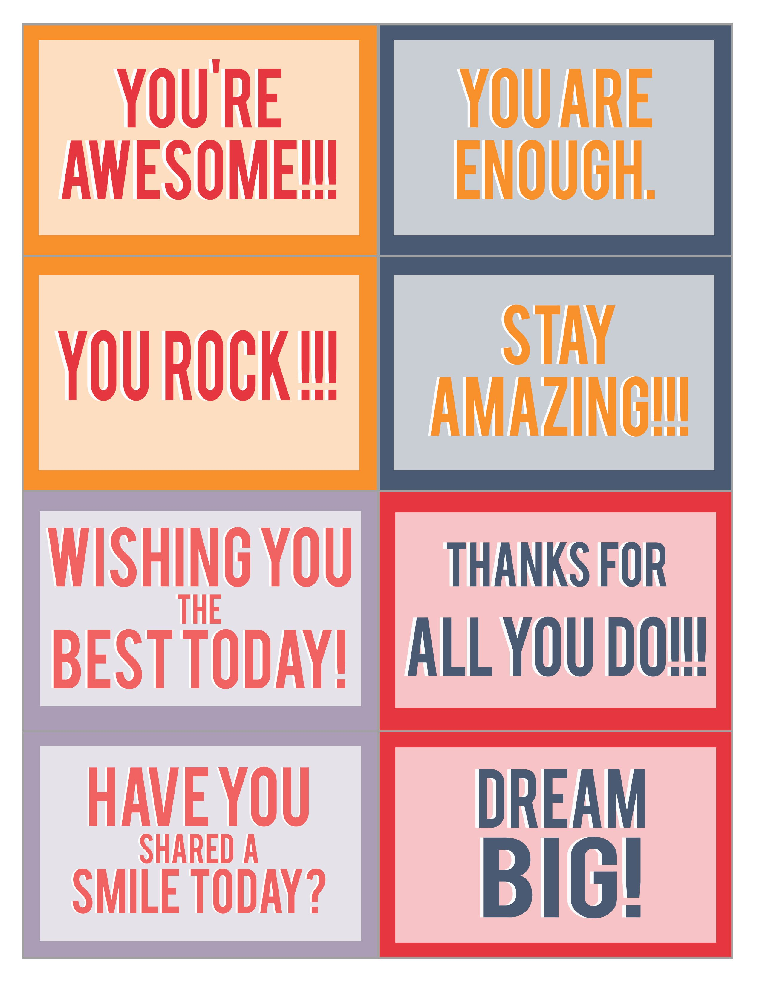 Pass It On Cards Google Search Printable Cards You Are Awesome Cards