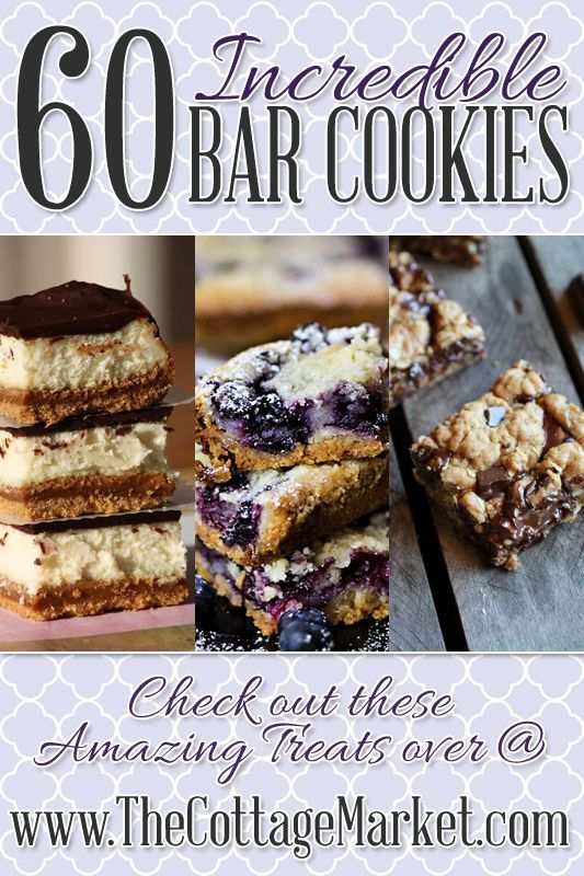 The Incredible Bar Cookie Collection (60 Fabulous Bar Cookie Recipes) - The Cottage Market