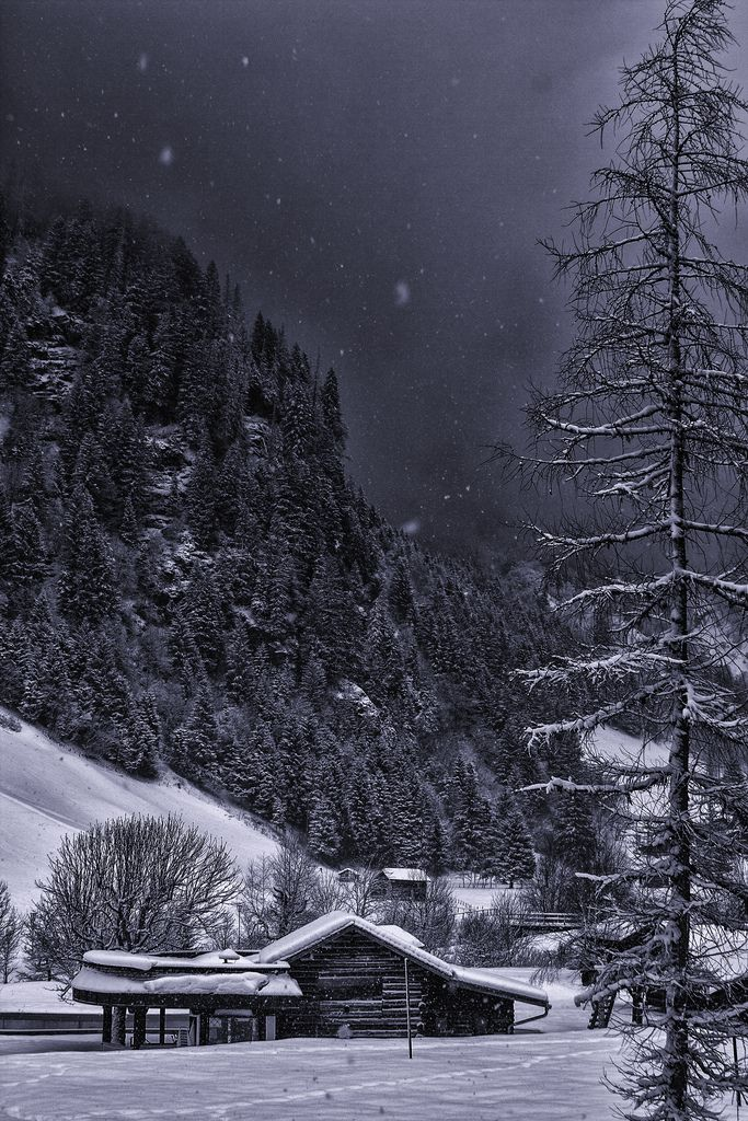 Magicalnaturetour Nature Mountain Silence Austria By Valerii9116 On Flickr Winter Landscape Winter Cabin Winter Scenes