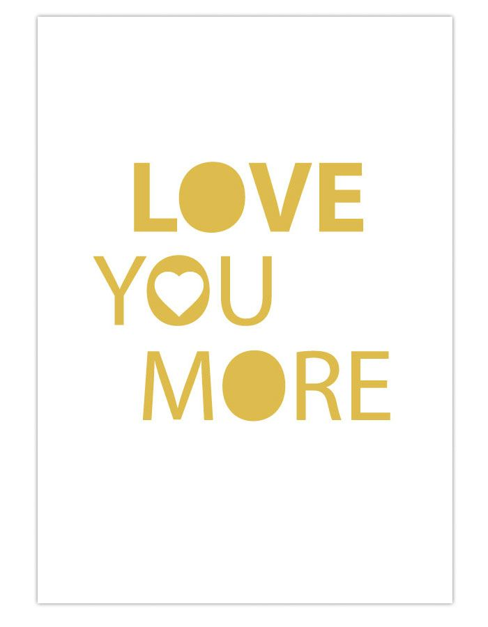 Exelent Love You More Wall Art Frieze - All About Wallart ...