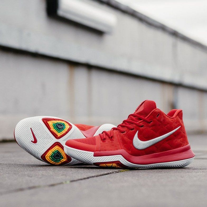 half off c2aa4 4b0fd ... university red wolf grey youth 326bd fc155 czech nike kyrie 3 all over  852395 601 specification with his recent trade 81ed3 21ebe ...