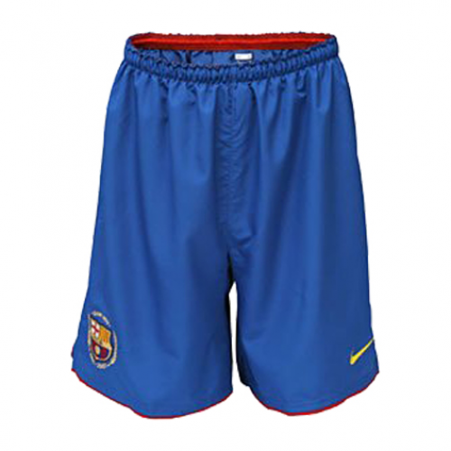 7828b652dd3 07-08  barcelona  home  blue  retro Soccer Jersey Short