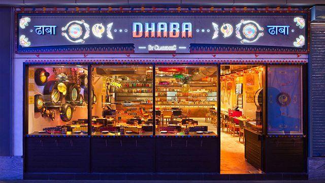 dhaba by claridges is considered as one of the best restaurants in