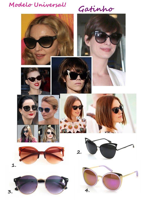 26e1d8e277b1d Modelo de óculos universal fica bem em qualquer tipo de rosto ...