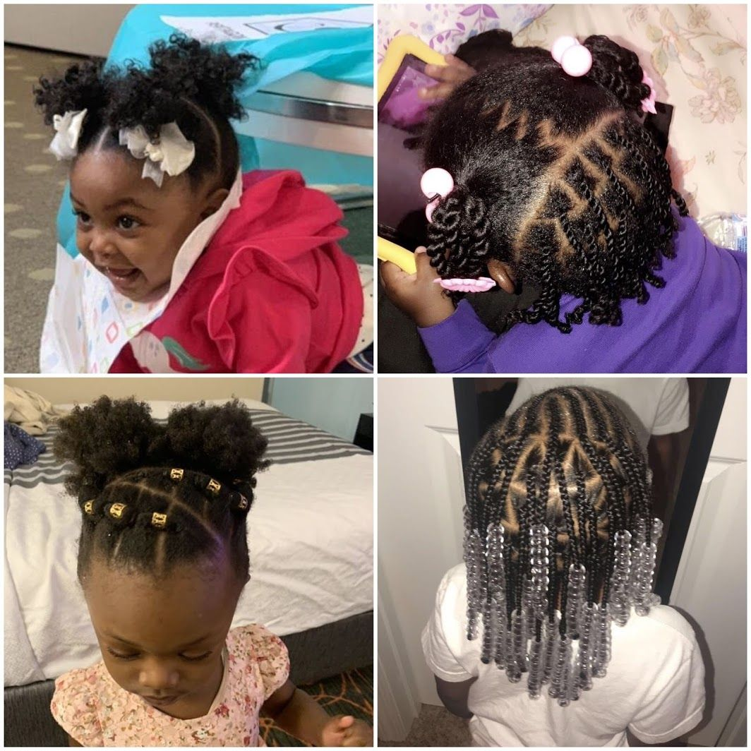 Infant Hairstyles For Black Children Lil Girl Hairstyles Black Baby Girl Hairstyles Kids Hairstyles