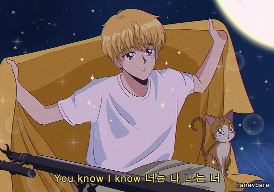 Jeon Jungkook In 2020 90s Anime Anime Bts Fanart