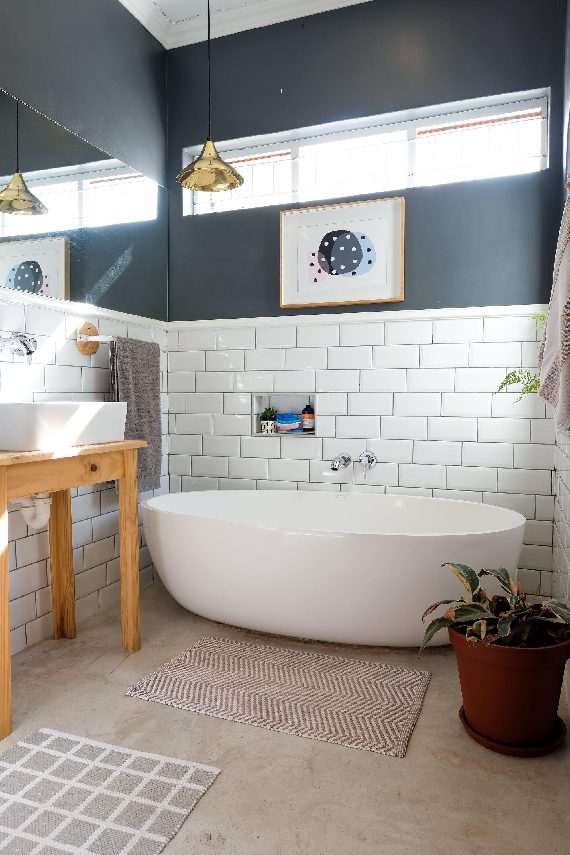 A Cape Town Couple S Bright Victorian Cottage Reno Bathroom Design Small Small Bathroom Bathroom Design