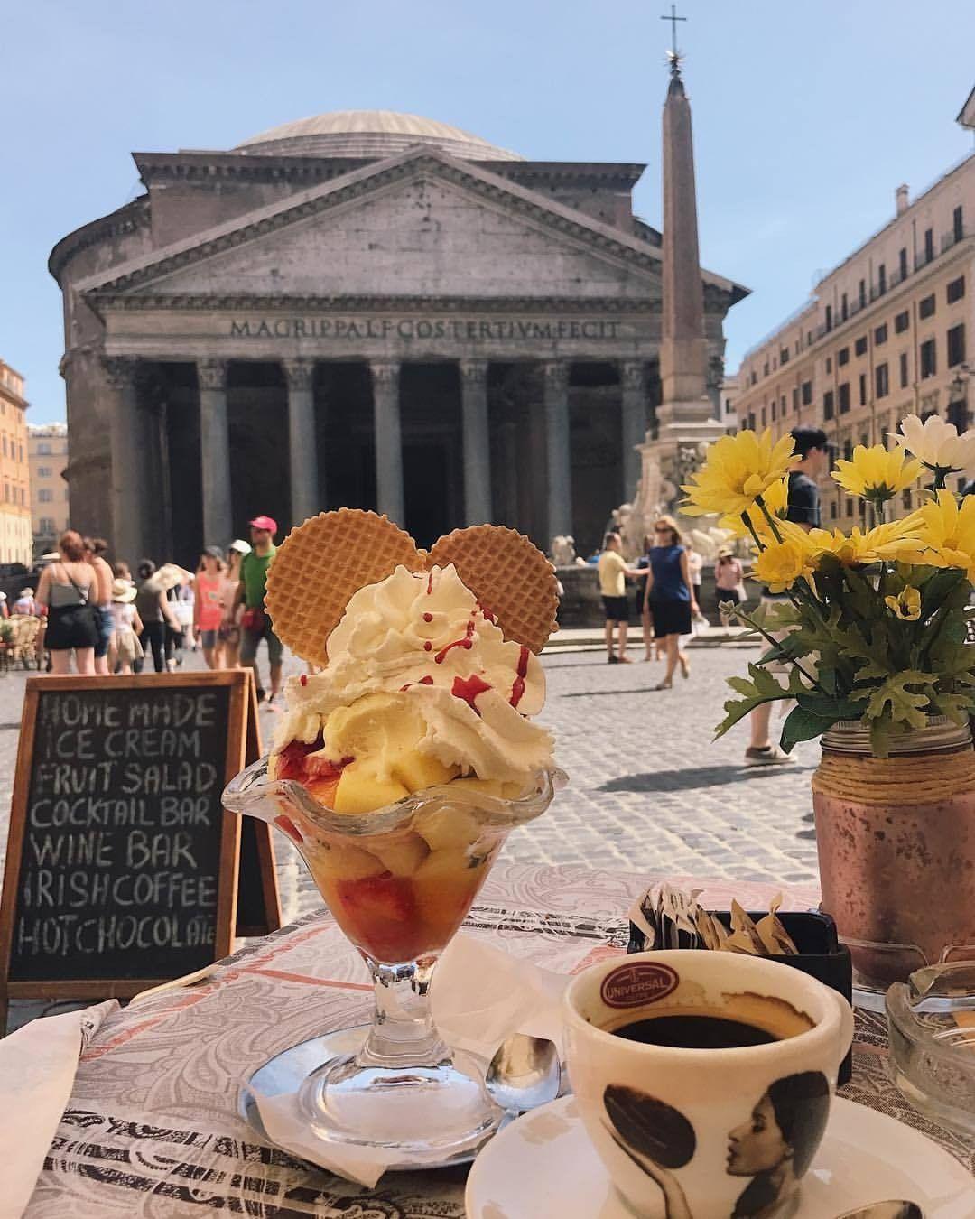 Sunny days in Rome Food, Chemex, Rome