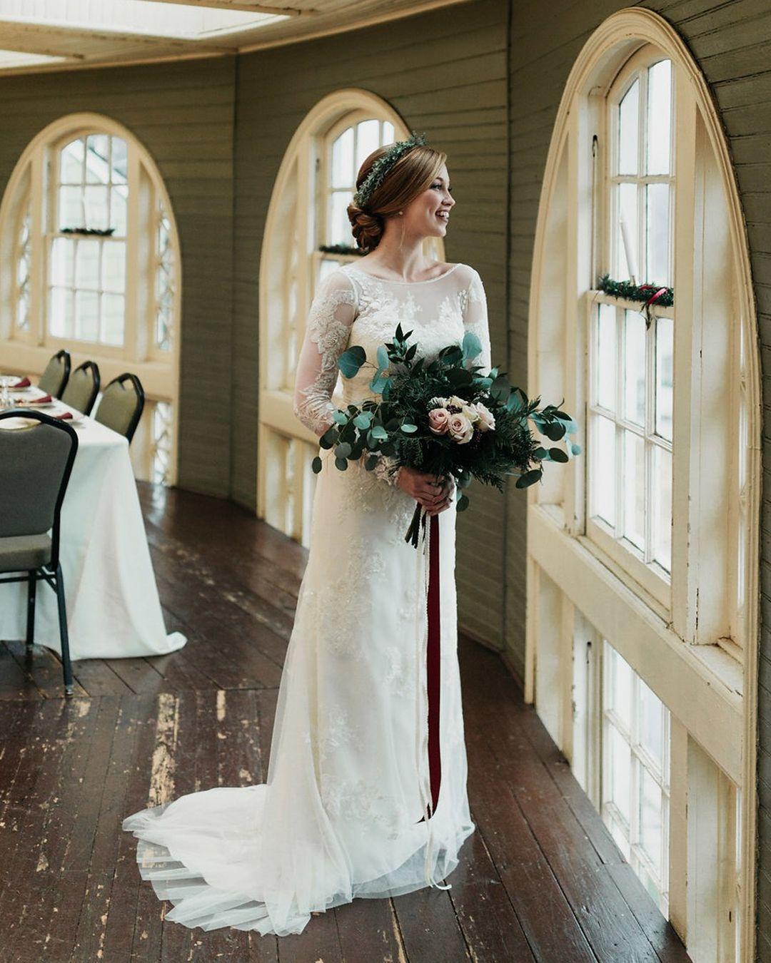Melissa Sweet Lace Long Sleeve Wedding Dress David S Bridal Davids Bridal Wedding Dresses Long Sleeve Wedding Dress Lace Illusion Wedding Dress [ 1350 x 1080 Pixel ]