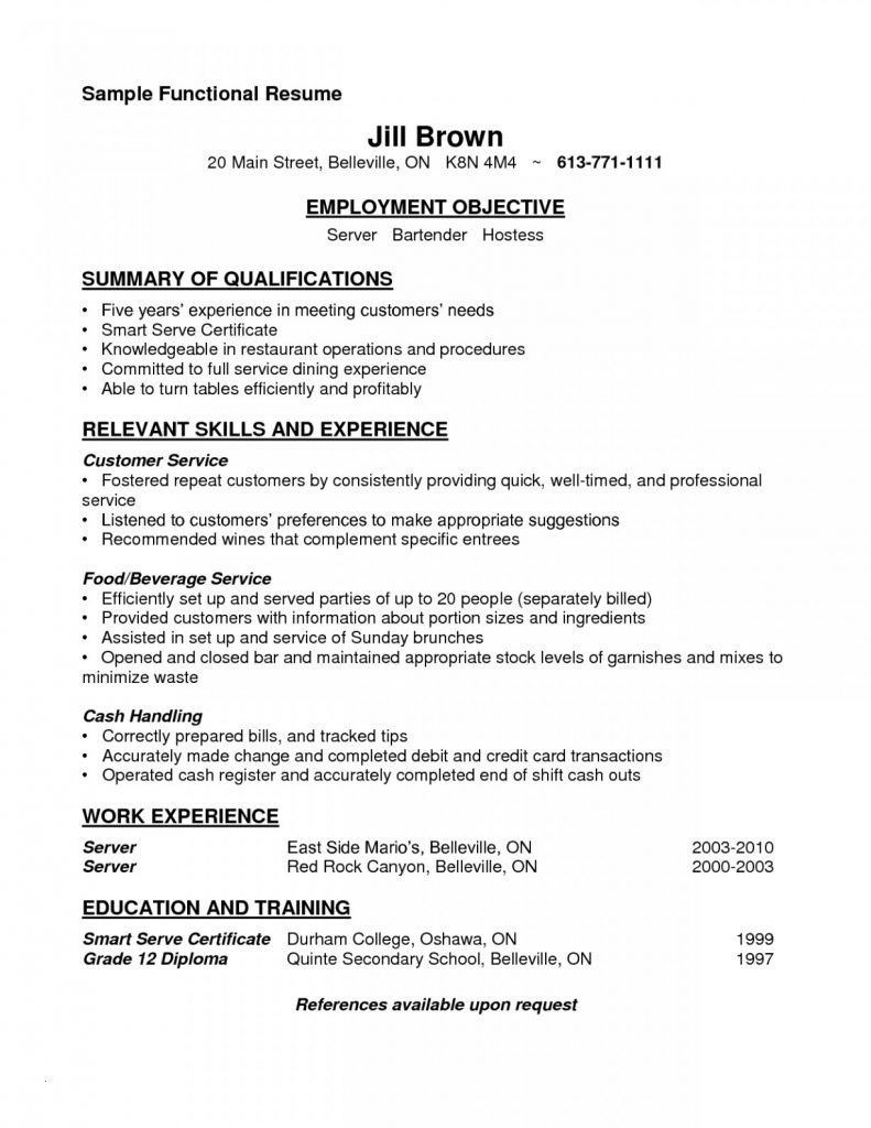 77 Beautiful Gallery Of Resume Examples For Hostess Jobs Check More At Https Www Ourpetscrawley Com 77 Beautiful Resume Skills Server Resume Resume Examples