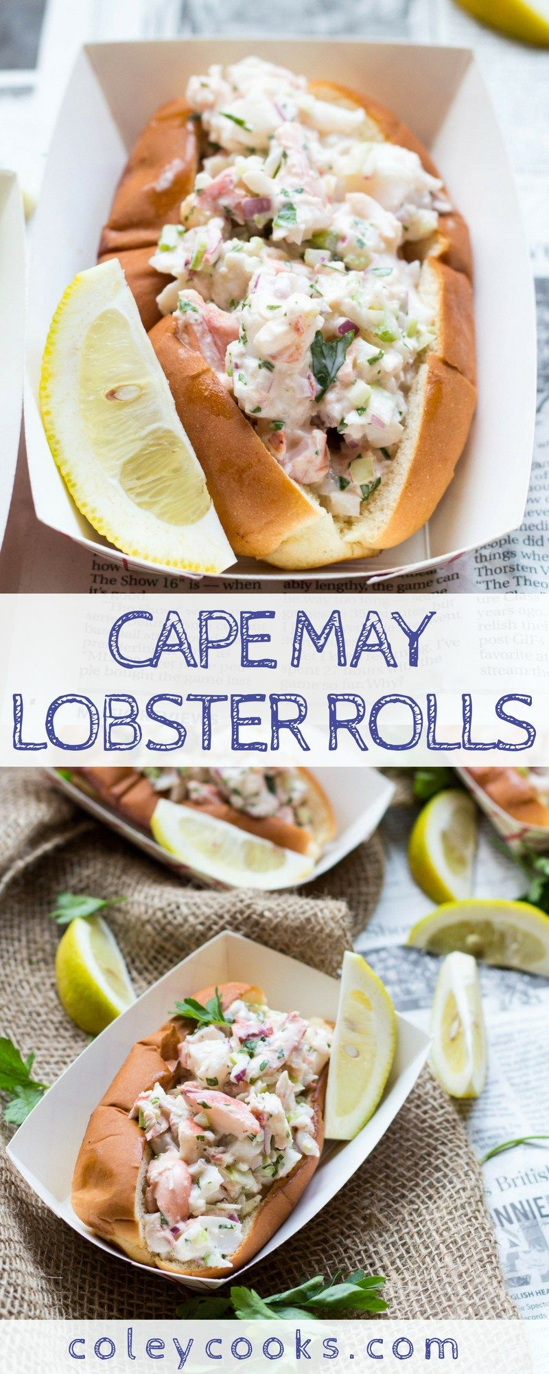 Photo of Cape May Lobster Rolls   Coley Cooks…