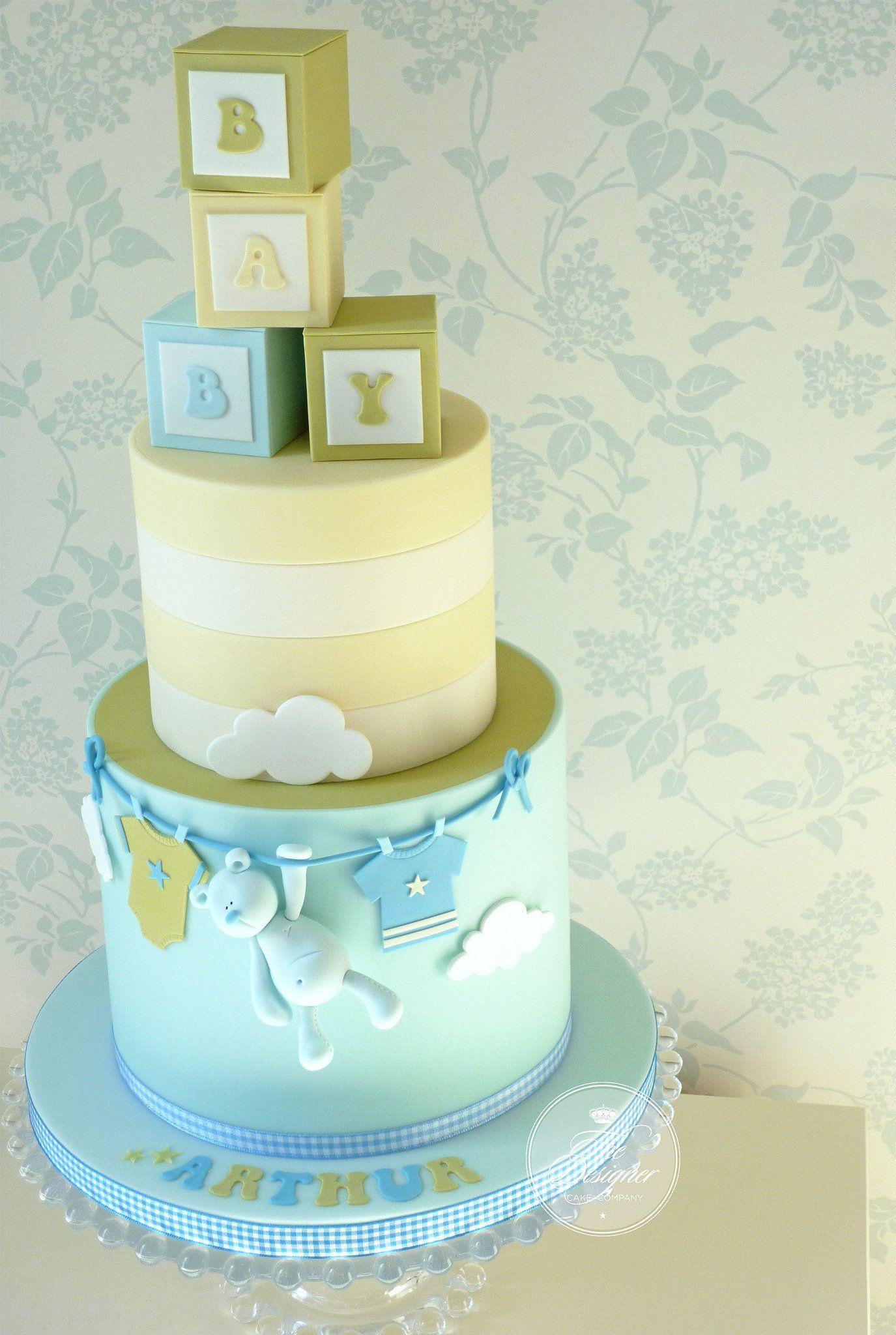 Building blocks baby cake