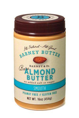 Barney Butter Bare Almond Butter Smooth 16 Ounce Barney Butter Http Www Amazon Com Dp B009jzrm1m Ref Best Almond Butter Barney Almond Butter Almond Butter