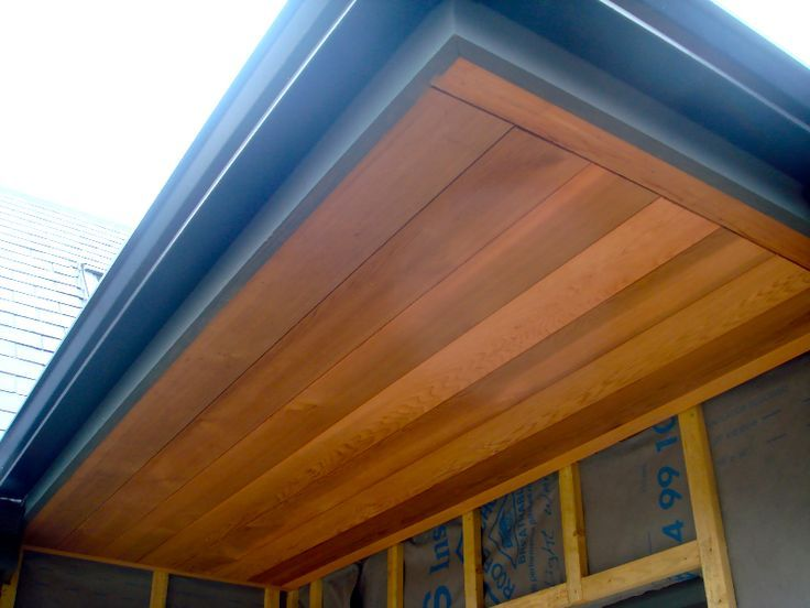 Image Associ 233 E Shed Timber Roof Roof Edge Roof Eaves