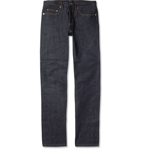 A.P.C. Atelier Production et Creation New Standard Straight-Fit Dry Selvedge Denim Jeans