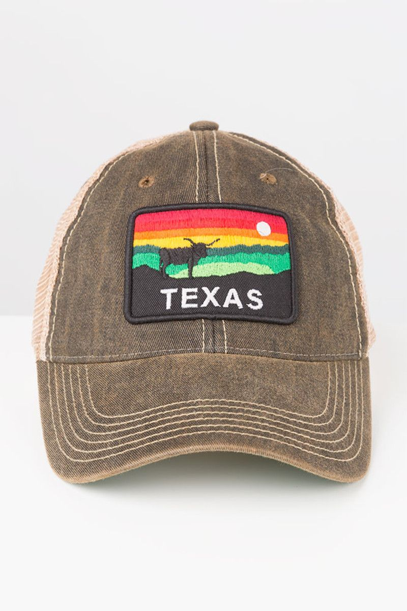 cheaper 1ad05 64692 Legacy Texas Sunset Patch Distressed Adjustable Cap   Co-op