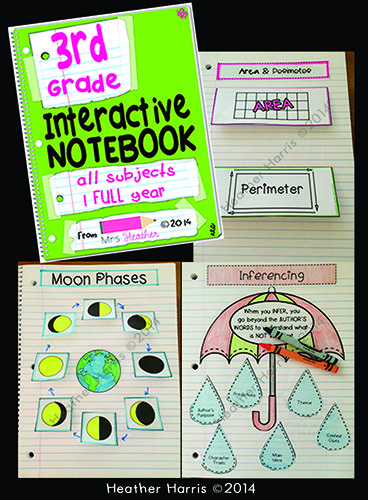 Interactive Notebooks Are A Way To Break Free From Worksheet Overload These Teaching Third Grade Third Grade Classroom Third Grade Math
