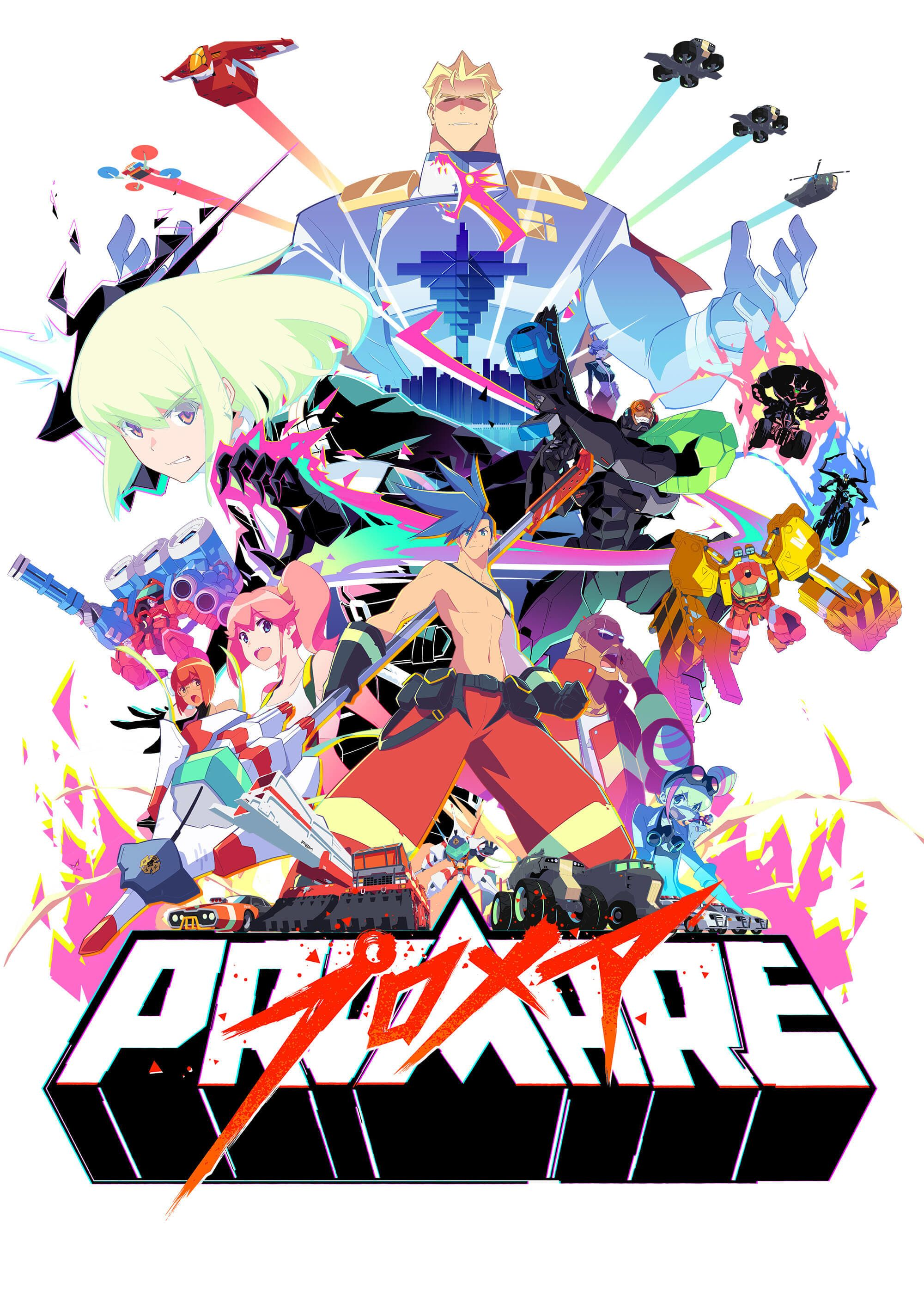 Promare Fullføre Film og Dubbet Anime films, Anime