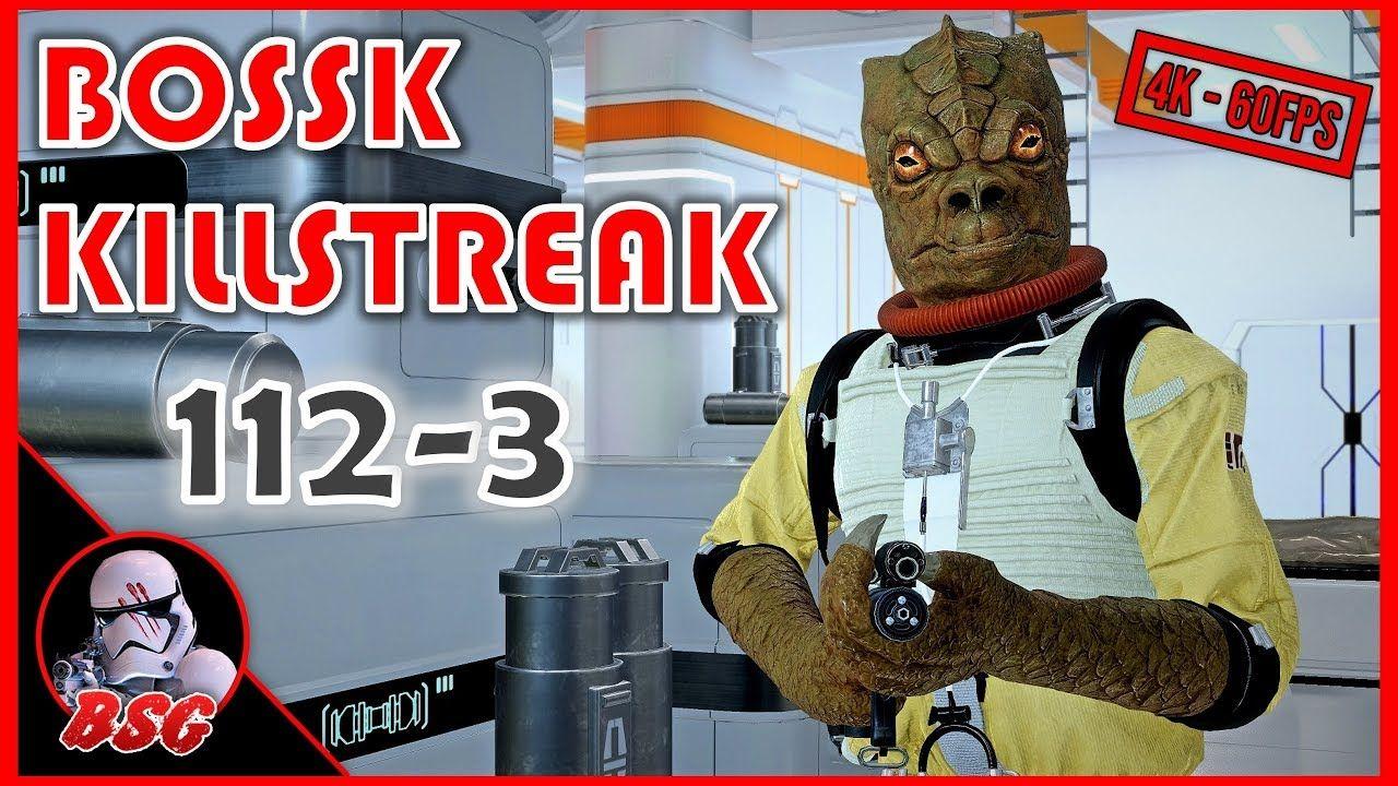 112 3 Bossk Killstreak On Kamino Pc Battlefront 2 4k