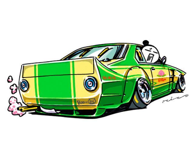Ozizo Art Show 画像 Art Cars