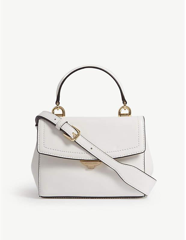 79f4a58f0167 MICHAEL Michael Kors Michael Kors Ladies Optic White Timeless Ava Extra  Leather Cross-Body Bag