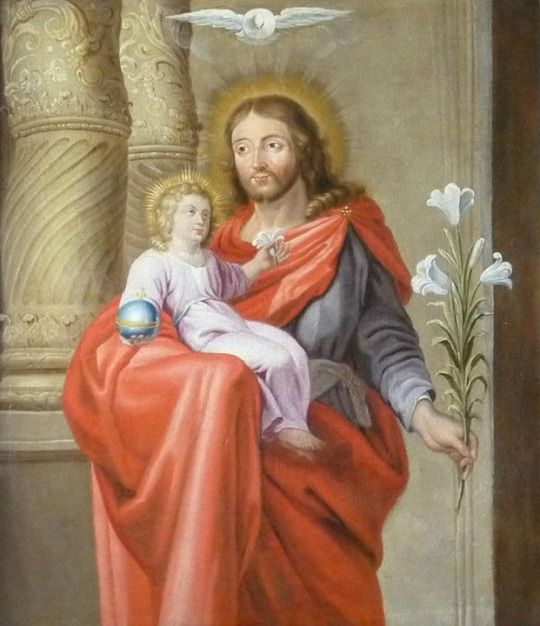 Saint Joseph. Pray for us.