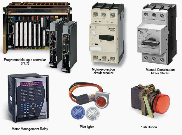 Low voltage motor control center components Automation