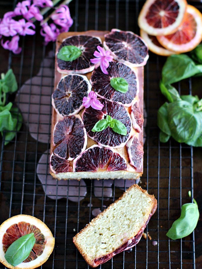Basil Blood Orange Pound Cake 8005