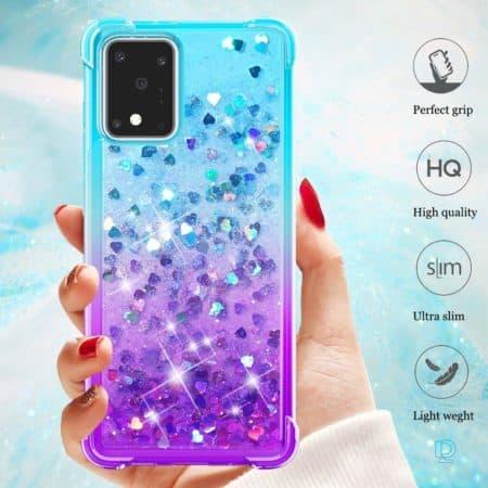Galaxy S20 Ultra Glitter Case   S11 Plus Slim Pink Glitter Case