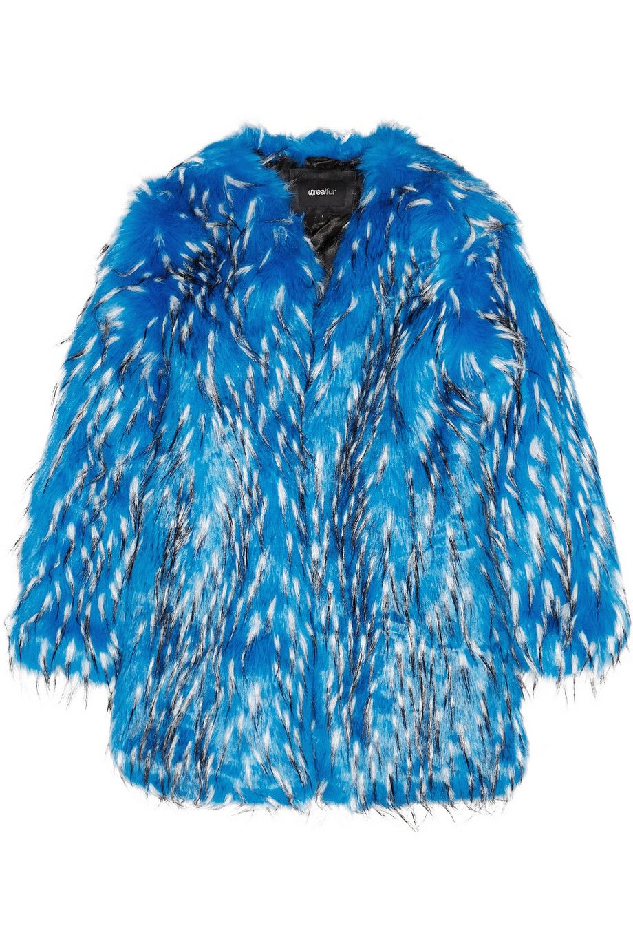 Faux Fur Don T Care That It Conjures Images Of The Blue Guy From
