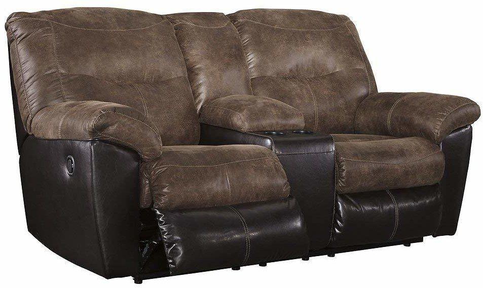 Stupendous Ashley Furniture Reclining Loveseat W Console F S Amazon Ibusinesslaw Wood Chair Design Ideas Ibusinesslaworg