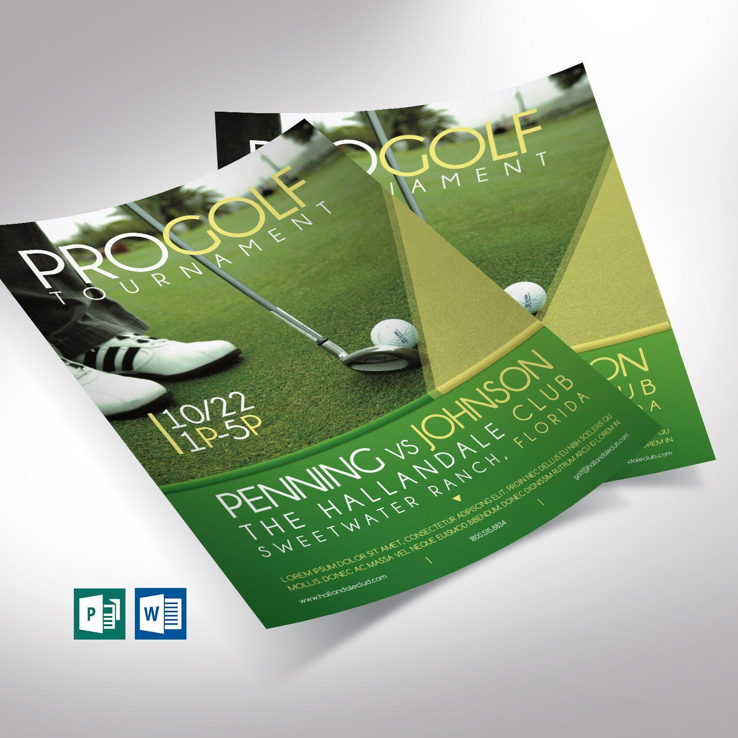 Golf Tournament Flyer Word Publisher Template Editable Etsy Publisher Templates Golf Tournament Sports Tournaments Golf tournament flyer template publisher