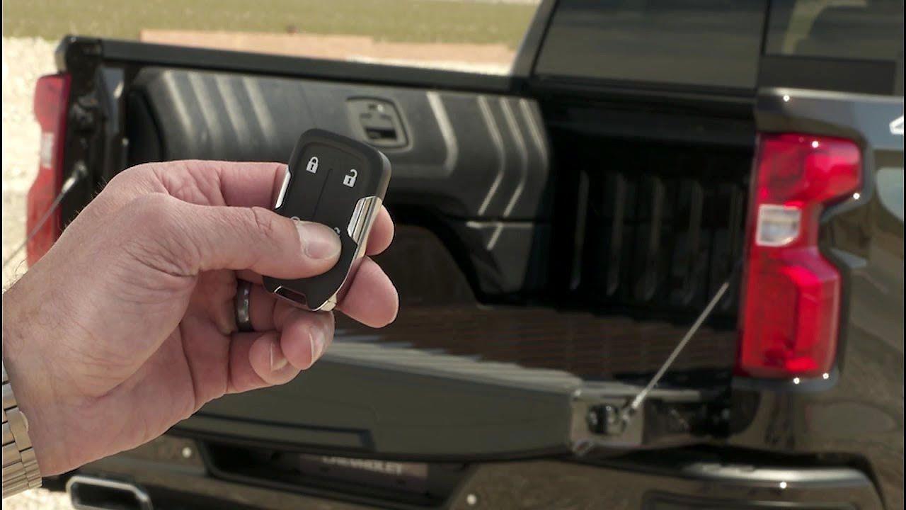 Chevy Silverado 2019 Tailgate